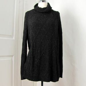 Market & Spruce XL Soft Black Pullover Sweater